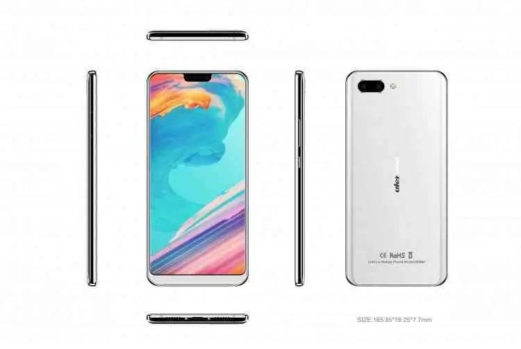 Ulefone vai apresentar o Ulefone T2 Pro ,primeiro smartphone Helio P70 do mundo no MWC 2018 1