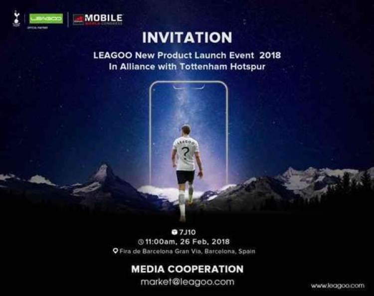 Estrela de Futebol Harry Kane irá ajudar a LEAGOO a lançar o primeiro telefone Android Notch? 3