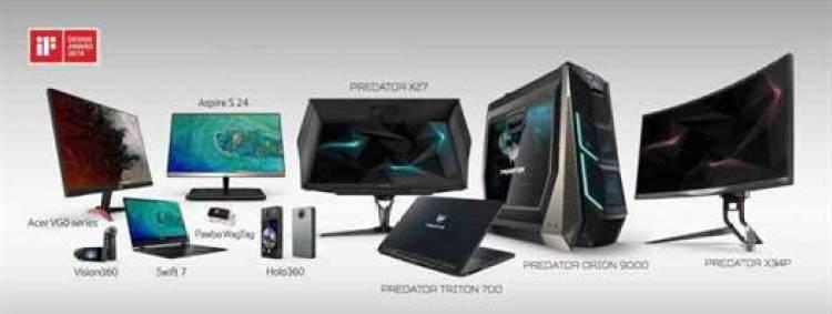 Acer Ganha Prémios iF Design 2018 1