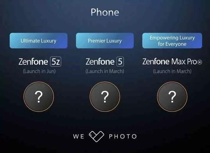 Asus pode lançar um smartphone para jogos em conjunto com a série Zenfone 5 na MWC 1