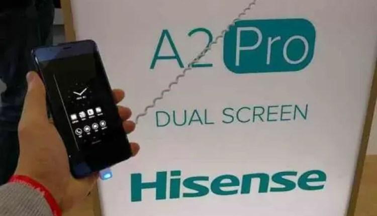 Hands On Hisense A2 Pro: O telefone com 2 ecrãs 8