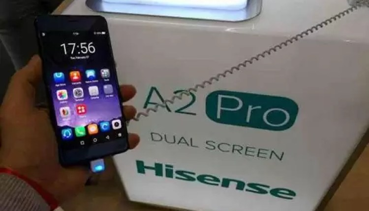 Hands On Hisense A2 Pro: O telefone com 2 ecrãs 6