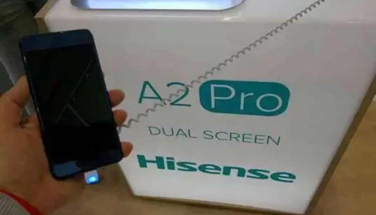 Hands On Hisense A2 Pro: O telefone com 2 ecrãs 4