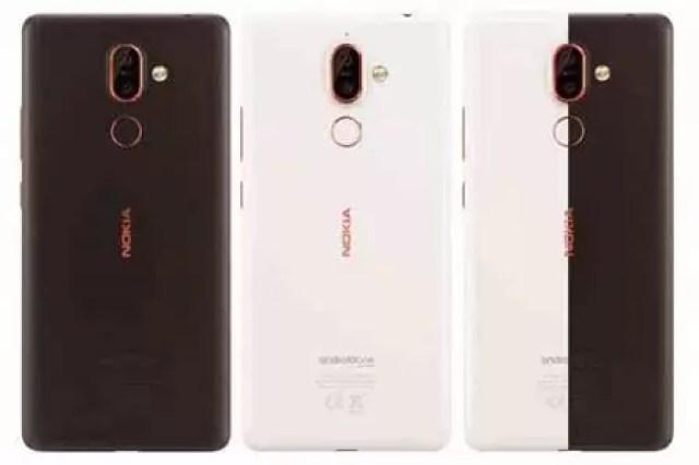 Renderização do Nokia 7 Plus mostra a opção de cor preta 2