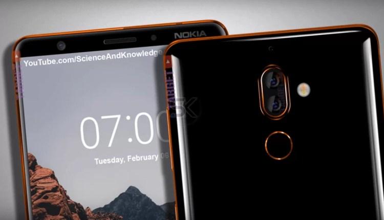 Nokia 7 Plus volta a aparecer com um design deslumbrante 5