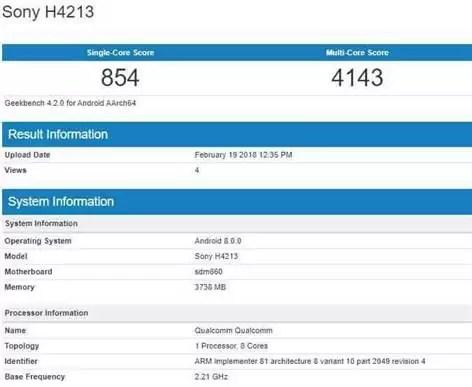 Poderão ser anunciados 3 Sony Xperia com Snapdragon 660 na MWC 2018 1