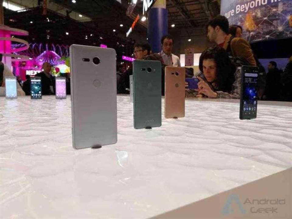 Sony Xperia XZ2 e XZ2 Compact Em Pré Reserva na Europa com muitas ofertas 3