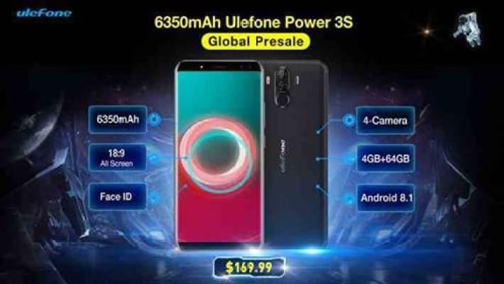 Ulefone Power 3S com 6350mAh inicia a sua pré-venda a $169.99 1