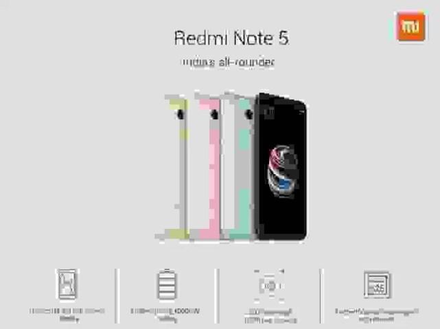 Xiaomi Redmi Note 5 e Redmi Note 5 Pro são oficiais com baixo preço 1