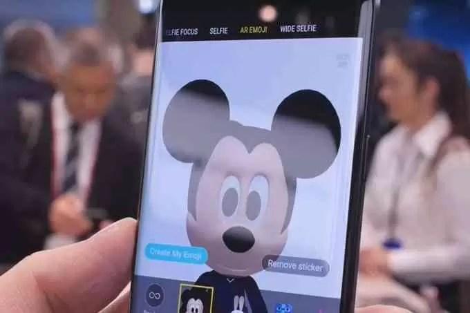 AR Emojis do Mickey Mouse Estão Agora Disponíveis no Samsung Galaxy S9 e S9+ 3