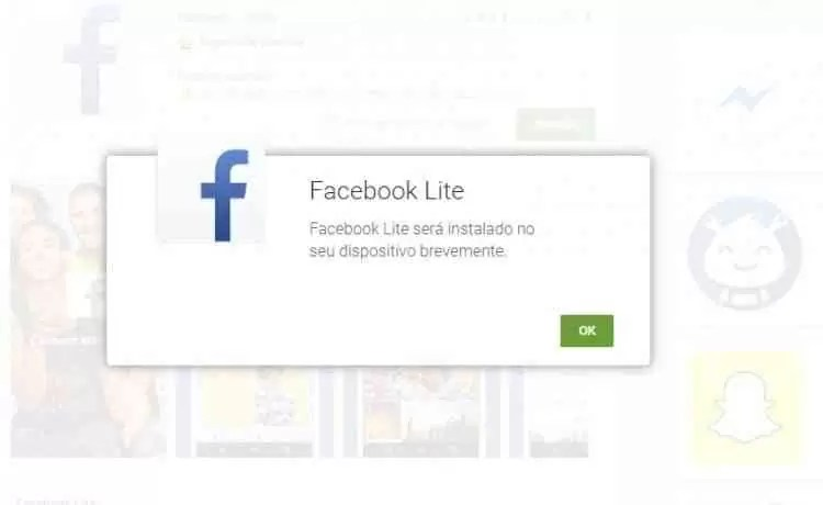 Facebook Lite do Facebook acaba de chegar ao Google Play 1