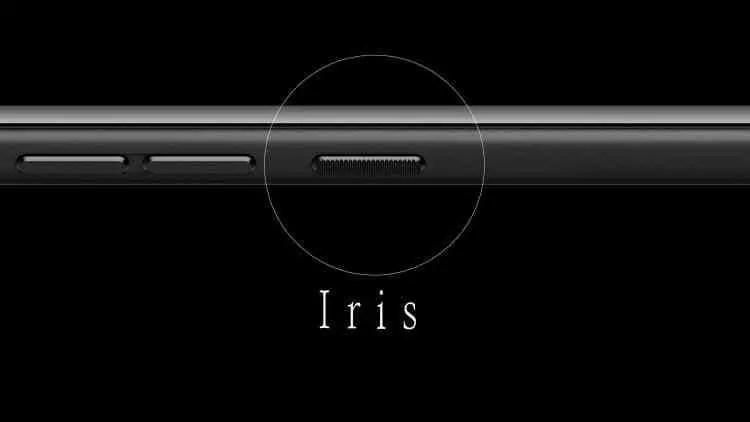 GOME K1 é um Smartphone ilustre e desconhecido com Sensor de Iris e muito mais 1