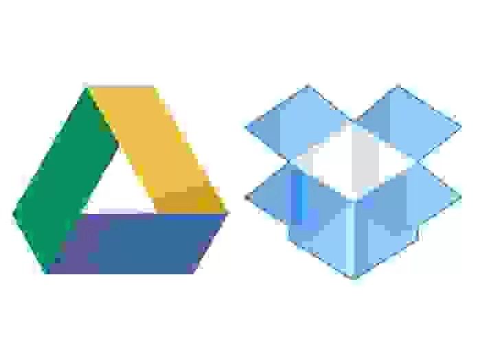 Google Cloud e Dropbox