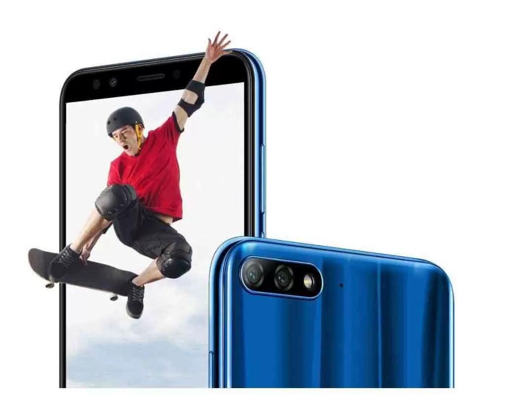 Huawei Y7 Prime 2018 Oficial com ecrã 18:9 e dupla câmara traseira 2