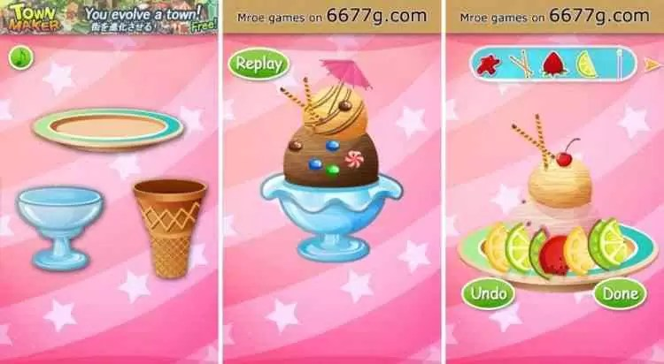 Ice Cream Master: Free Food Making Cooking Games da Kids Food Games Inc. acaba de chegar ao Google Play 2