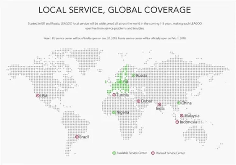 """LEAGOO dá mais um passo para um """"Local Care"""" Global 4"""
