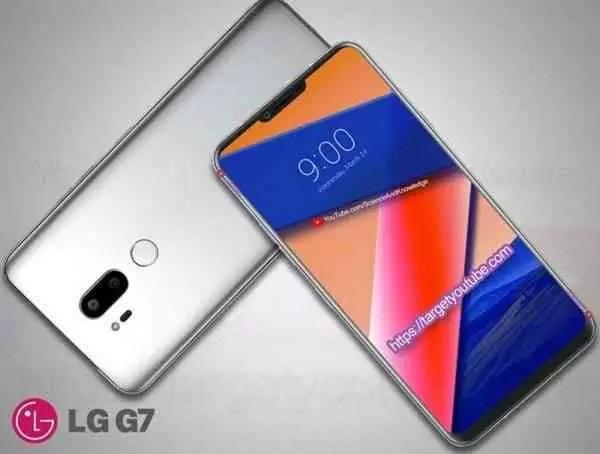 LG G7 Mostra-se em conceito com base em fugas de informação 5