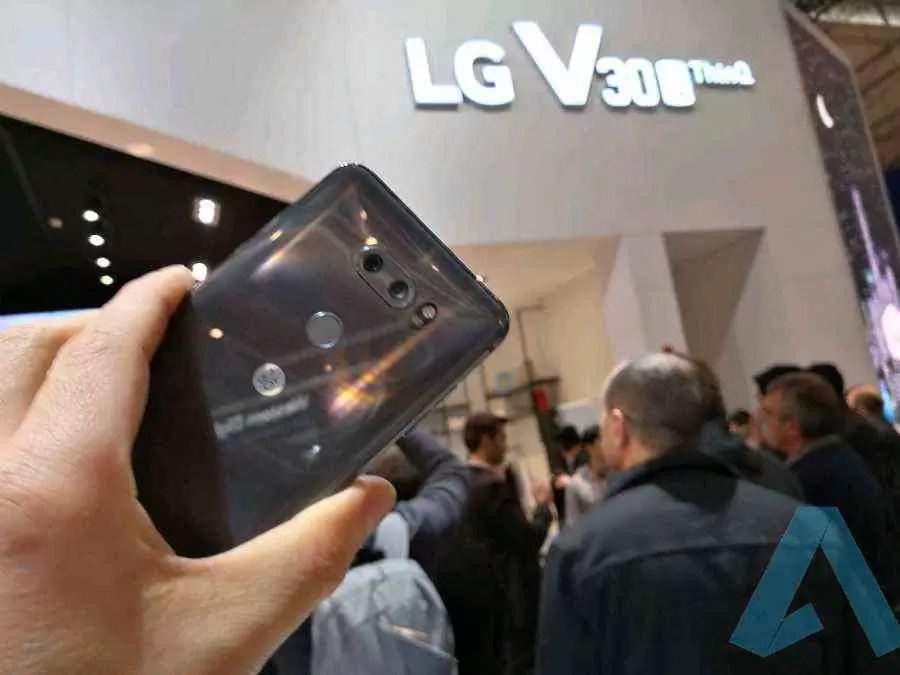 LG V30 vs LG V30S ThinQ comparação de câmeras 2