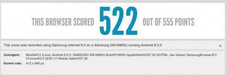 Será este o primeiro Benchmark do Samsung Galaxy Note 9? 1