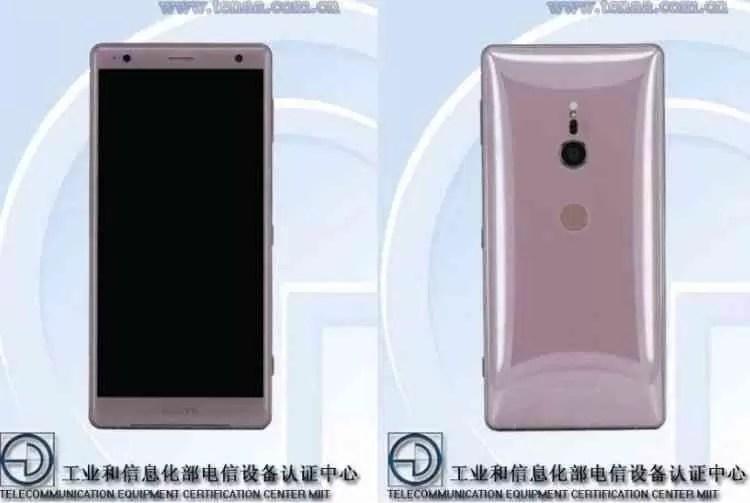 TENAA Confirma Sony Xperia XZ2 com 6GB RAM na China 1