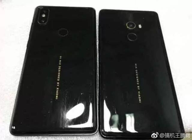 Xiaomi Mi Mix 2s espião revela a posição da câmera dupla - na esquina 1