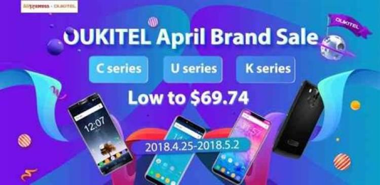 OUKITEL lança campanha de Abril com produtos desde $69.74 1