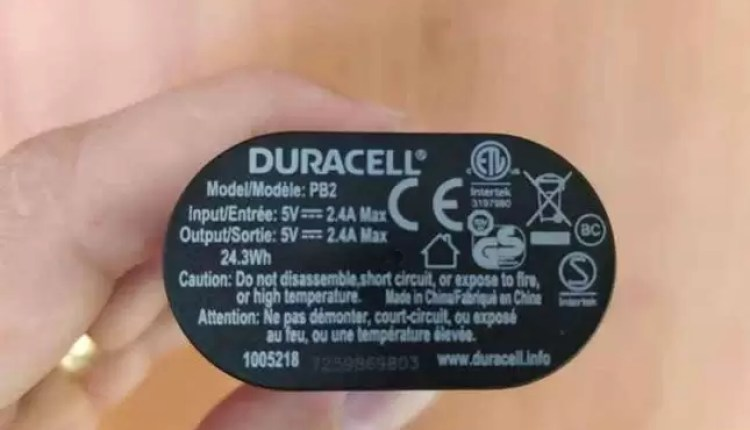 Análise Duracell Powerbank 48 horas 4