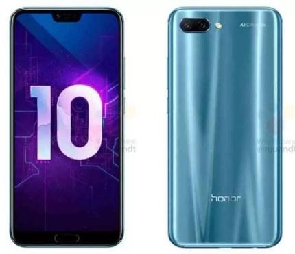 Honor 10 com leitor de impressão digital debaixo do ecrã? 3