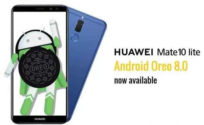 Huawei Mate 10 Lite começa a receber a EMUI 8.0 baseada no Oreo 1