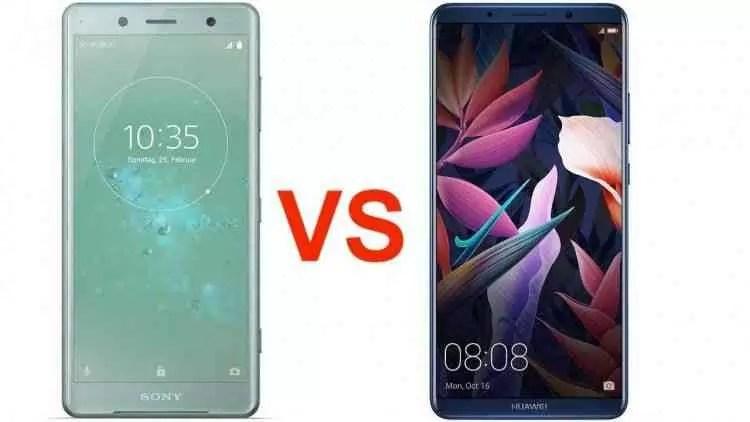 Huawei P20 Pro VS Sony Xperia XZ2 Batalha de Especificações 1
