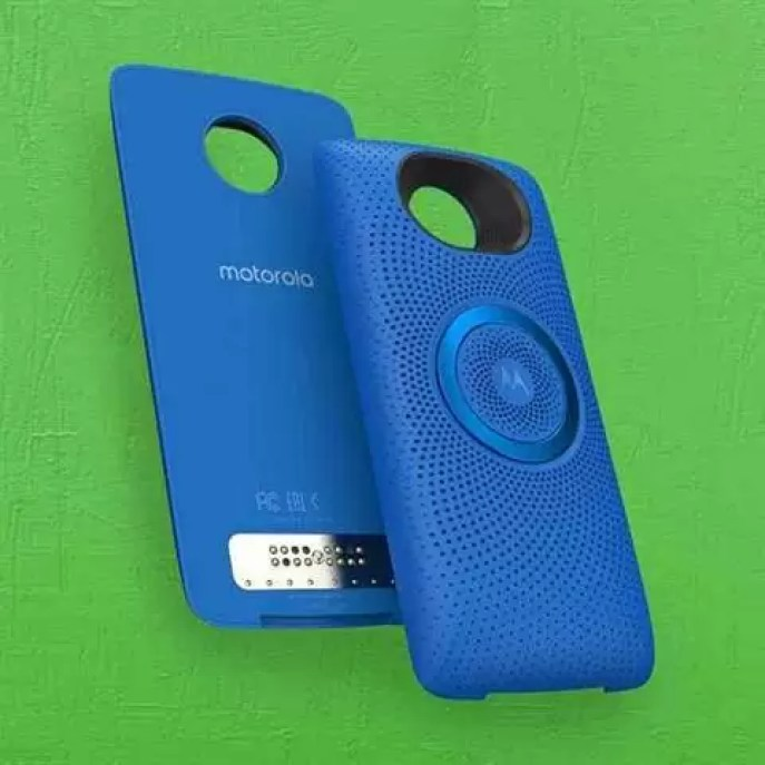 Motorola anuncia Moto Mod Coluna Estéreo por $60 1