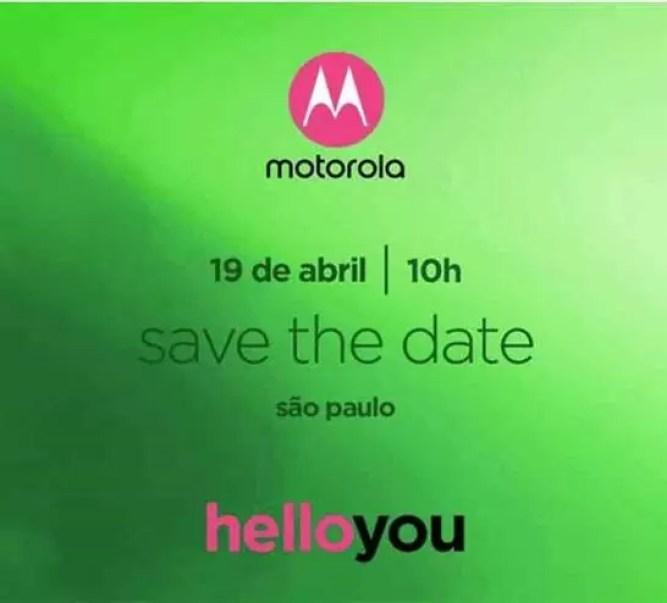 Motorola marca evento para dia 19 de abril em São Paulo 1