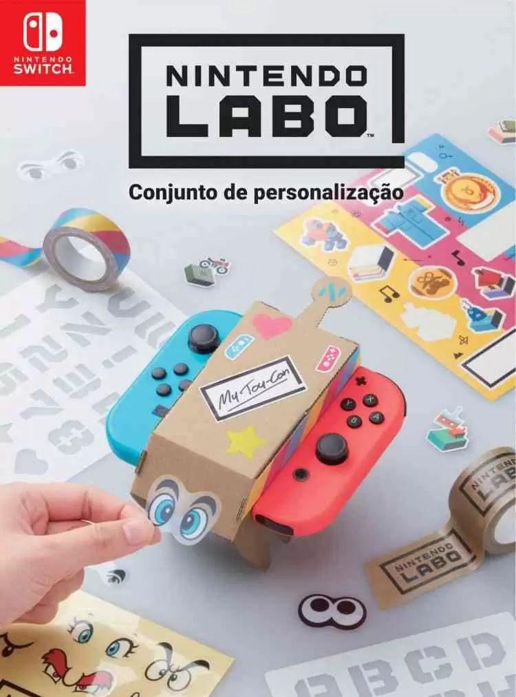 NINTENDO LABO combina peça de cartão e videojogos numa experiência única 2
