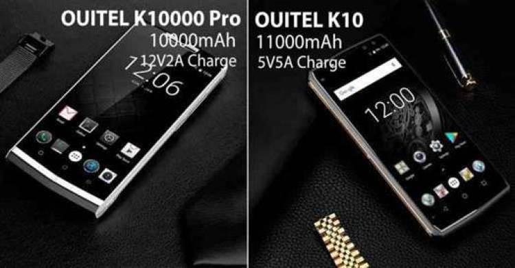 OUKITEL anuncia incrível flash sale para o 10000mAh K10000 Pro e 11000mAh K10 2