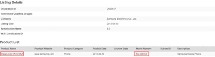 Samsung SM-G8750 (Galaxy S8 Mini) deverá ser lançado em breve 1