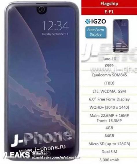 Sharp aposta em 5 novos smartphones na Europa em Junho 1