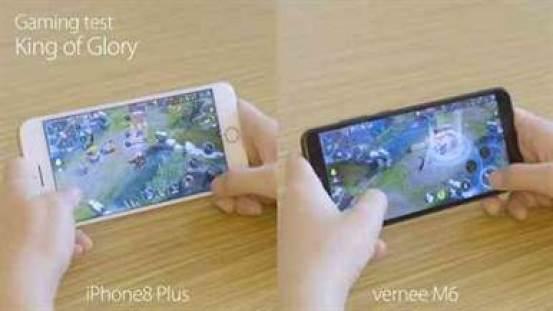 Vernee M6 desafia o iPhone 8 Plus 1