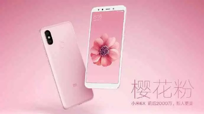 Xiaomi Mi 6X vai chegar em cinco opções de cores 2