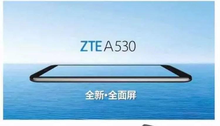 ZTE A530 é oficial com ecrã de 5,45 polegadas e um preço super baixo 2