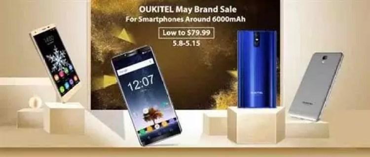 OUKITEL faz campanha de Smartphones com 6000mAh, a partir de $79.99 1