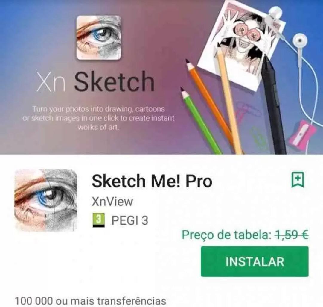 Sketch Me! Pro da XnView era 1.59€ e agora está Grátis na Play Store 1