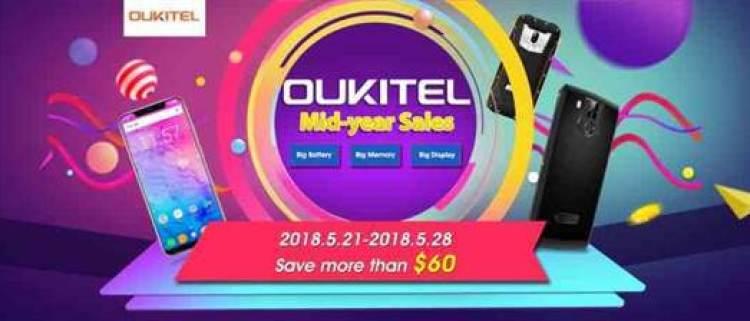 OUKITEL Campanha de 1º Semestre para equipamentos de Grande memória , bateria e armazenamento a partir de $99.99 1