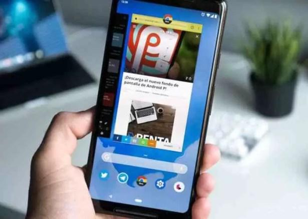 A verdadeira razão porque o Android P usa a navegação por gestos 1