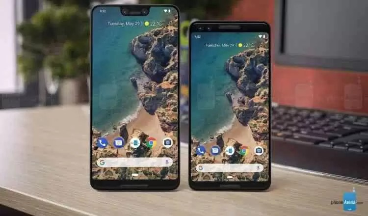 Google Pixel 3 e Pixel 3 XL aparecem em imagem 1