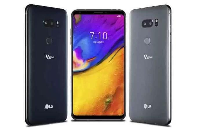 LG V35 ThinQ é oficial com Snapdragon 845 1