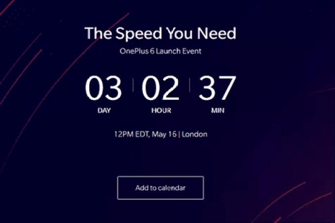 OnePlus 6. Sabem quantos dias faltam até o telefone ser revelado? 1