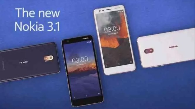 Tudo o que precisas saber sobre o Nokia 3.1 1