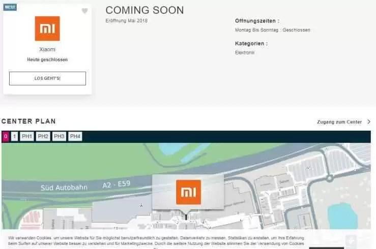 Xiaomi irá abrir nova loja em outro país europeu 1