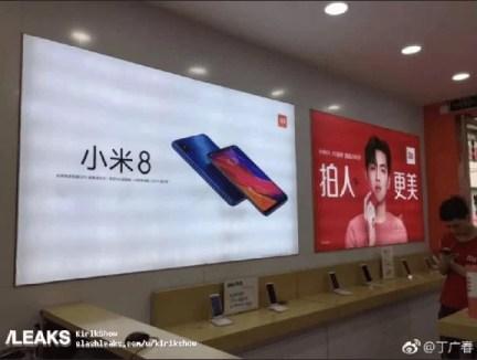 Xiaomi Mi 8 chega à Europa em agosto 1