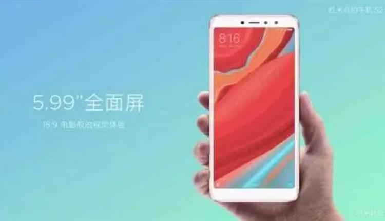 Xiaomi Redmi S2 é agora oficial como o telefone para selfies 4